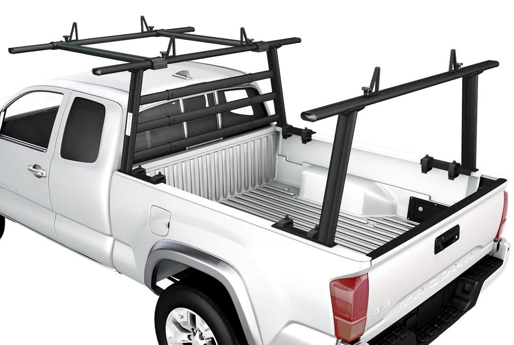 aa racks full size aluminum truck headache racks for pickups w over cab ext back racks apx25 wg 3 e