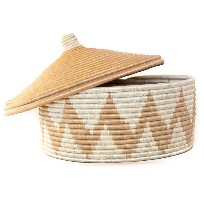 Local and Lejos - Zura Floor Basket | Artisan Home Decor