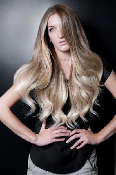 Balayage 220g 22 Ombre Ash BrownAsh Blonde Hair