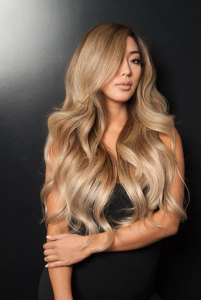 Balayage 220g 22 Ombre Chocolate BrownDirty Blonde Hair