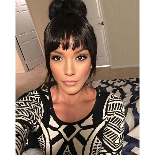 Cleopatra Clip In Bangs Off Black 1B BELLAMI BELLAMI