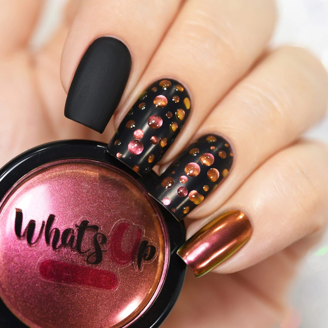 whats nails - sunset powder