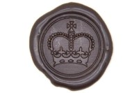 Royal Crown King Queen Wax Seal Stamp | Backtozero