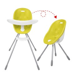 Phil And Teds Poppy High Chair Vintage Revolving Highchair To Toddler My Babythingz By Lime Green Shown In Both Configurations
