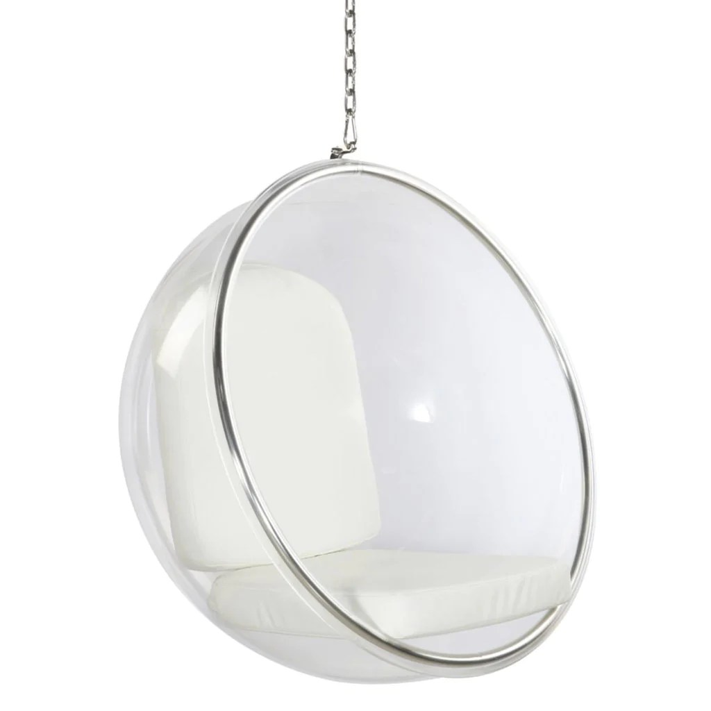 bubble chair stand only baby bing bag 7 luxury hanging egg chairs you 39ll want to lounge in