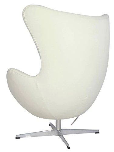 jacobsen egg chair leather exercise computer arne italian hand sewn luxury 5 colors