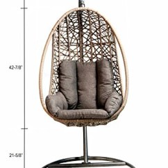 Hanging Chair Egg Sliding Shower For Patios Moderns Homes Hammock Town