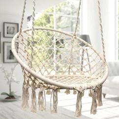 Swing Chair Pics Covers Cotton Hammock Macrame By Sorbus Hammocks Town