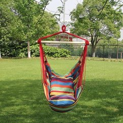 Rope Chair Swing Oversized Accent Hanging Hammock Seat 5 Colors Town