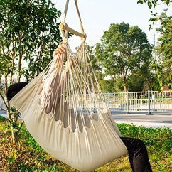 Rope Chair Swing Pallet Instructions Cctro Hanging Hammock Seat Large Brazilian Net Porch For
