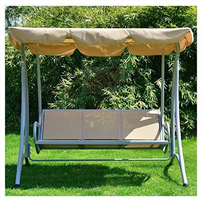 outdoor loveseat with canopy 3 person swing seat