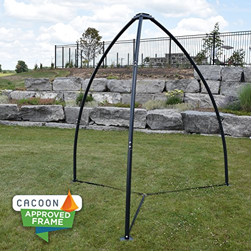 hammock chair stands gray office vivere tripod stand town