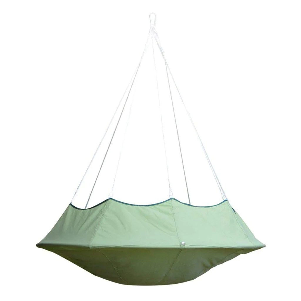 Cacoon Hanging Chair Lullio Double Hanging Chair Leaf Green