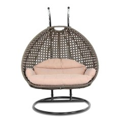 Swing Chair Home Town Quality Dining Room Covers Wicker With Stand For Two People Dubai Collection