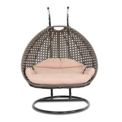 Hanging Chair With Stand Dubai Ergonomic Knee Wicker Swing For Two People Collection