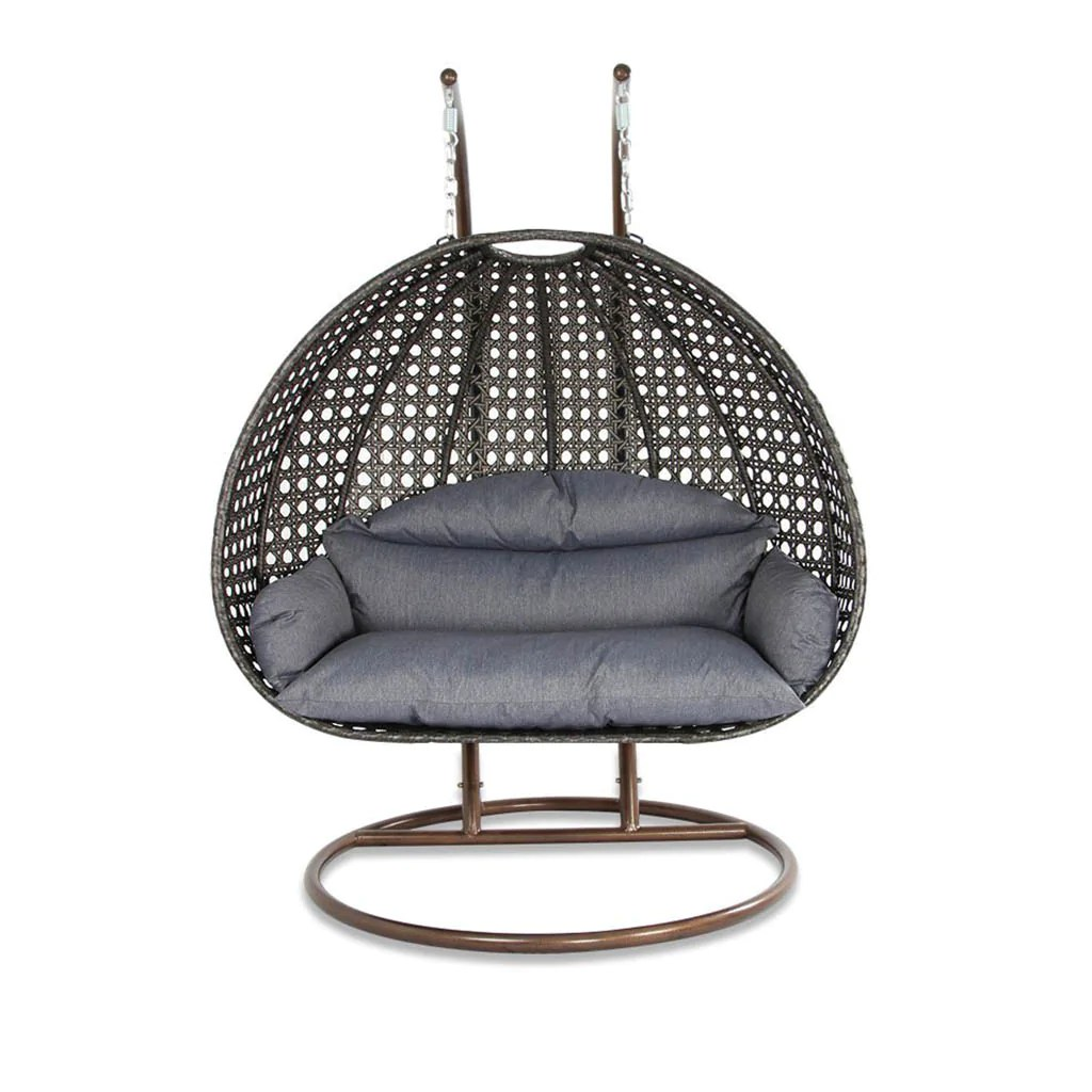 Egg Shaped Wicker Chair Elegant Outdoor Swing Chair Luxury Hammock Chair