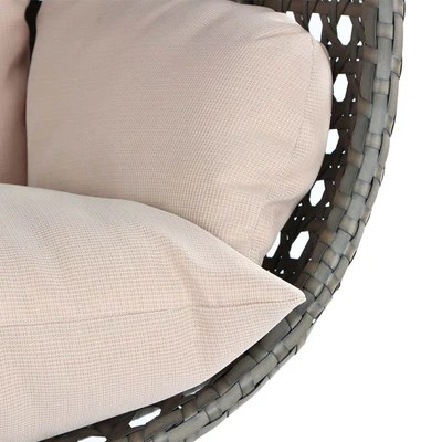 hanging chair with stand dubai covers kmart australia wicker swing for two people collection
