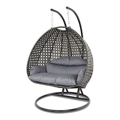 outdoor wicker hammock chair chairs for church sanctuary luxury hanging with stand and cushion by island gale
