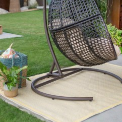 Hanging Chair Loveseat Fishing For Sale Uk Egg Luxury Outdoor Patios