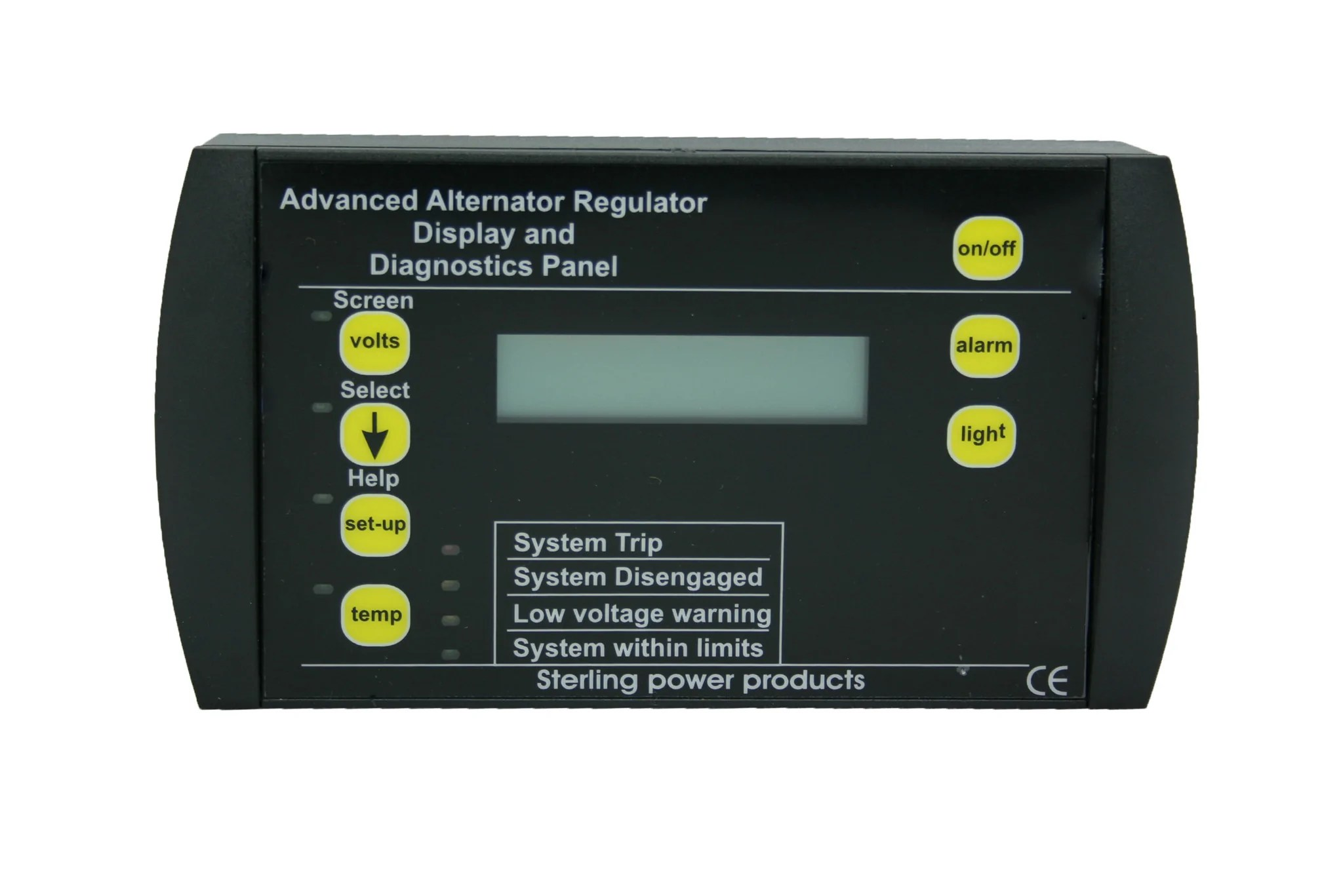 hight resolution of  advanced digital alternator regulator pro reg d dw pdar pdarw remote control