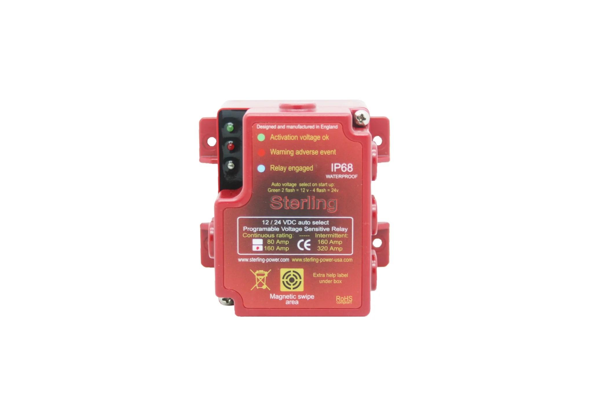 hight resolution of voltage sensitive relay digital 80 160a 12 24v