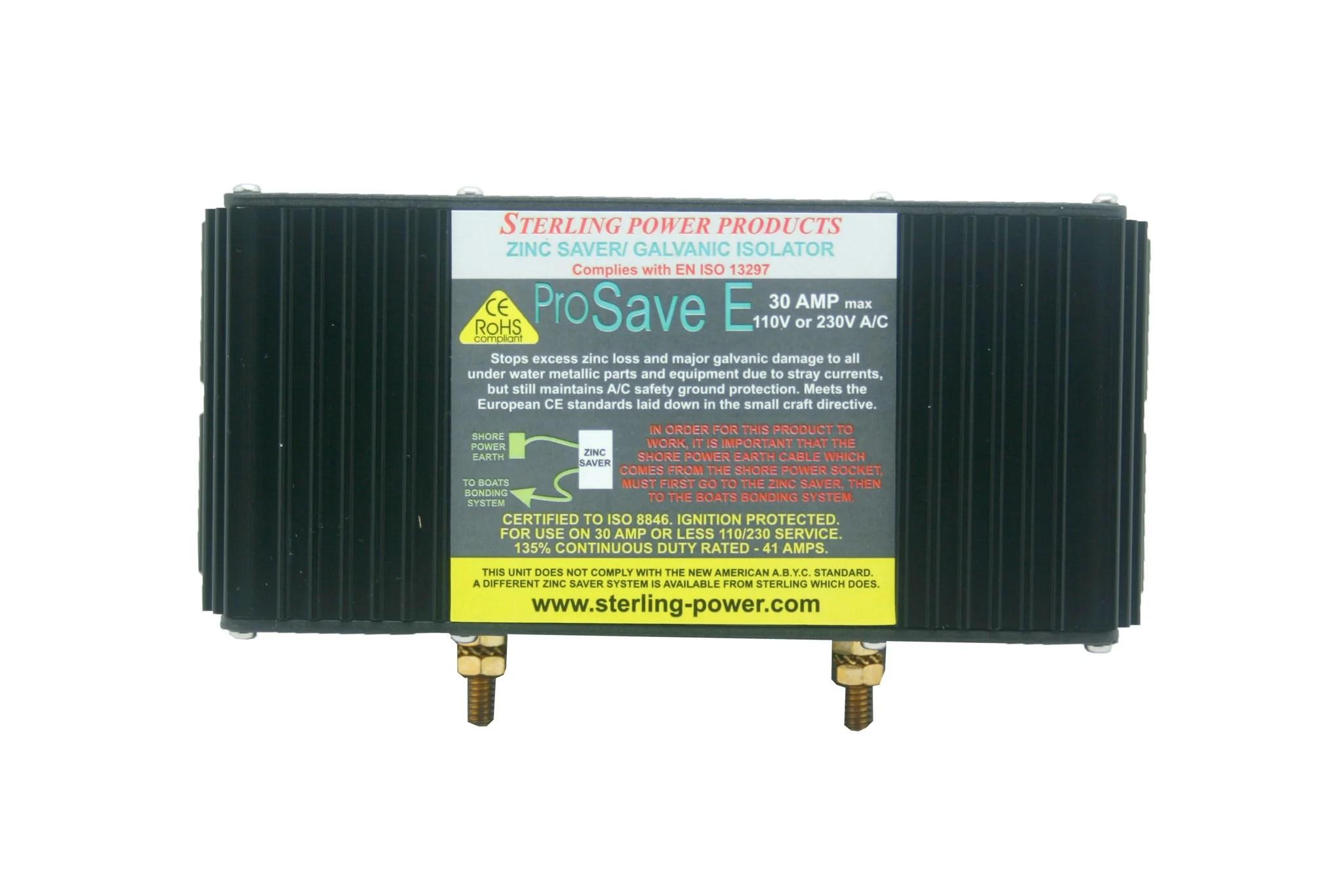 medium resolution of zinc savers galvanic isolators