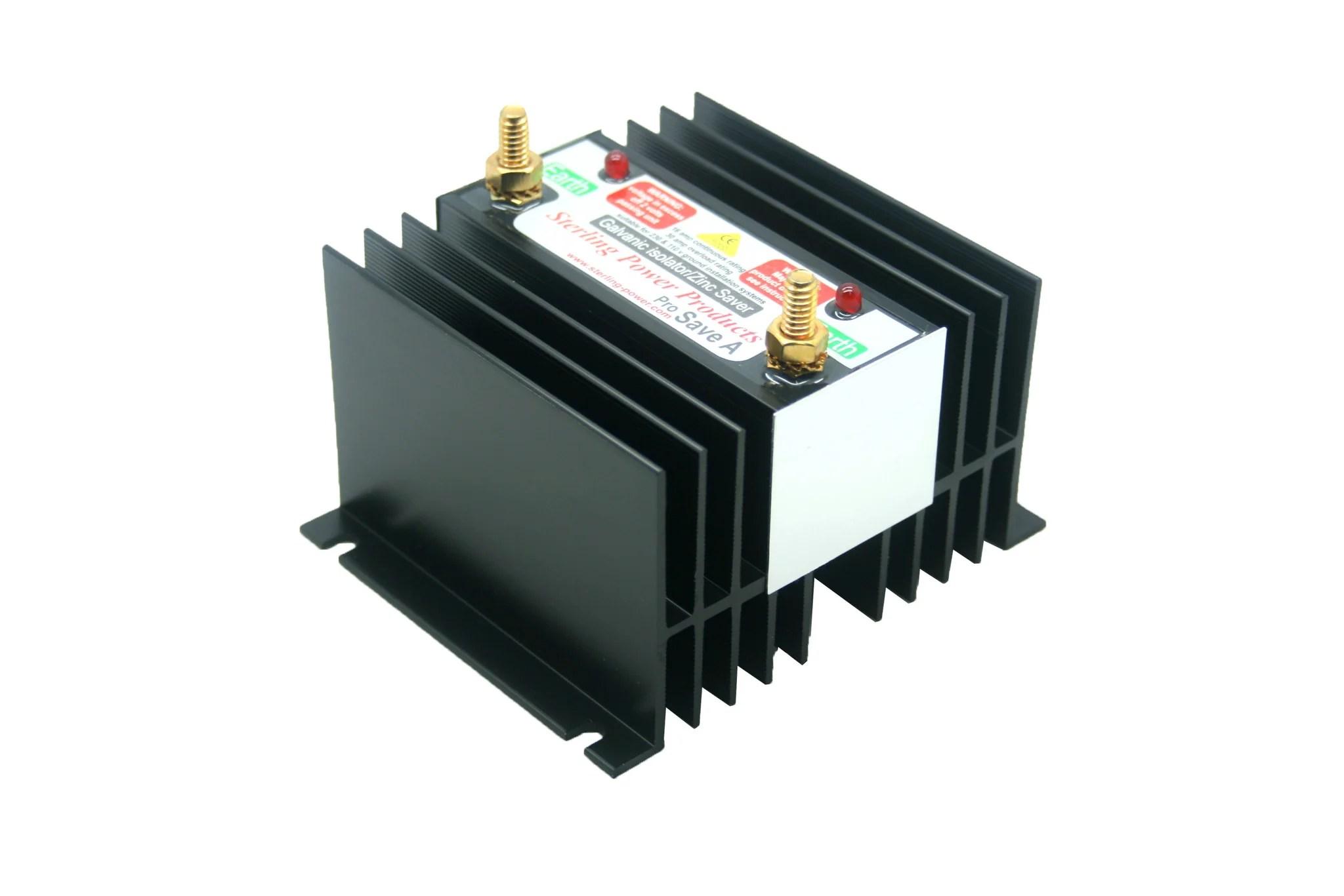 hight resolution of zinc savers galvanic isolators