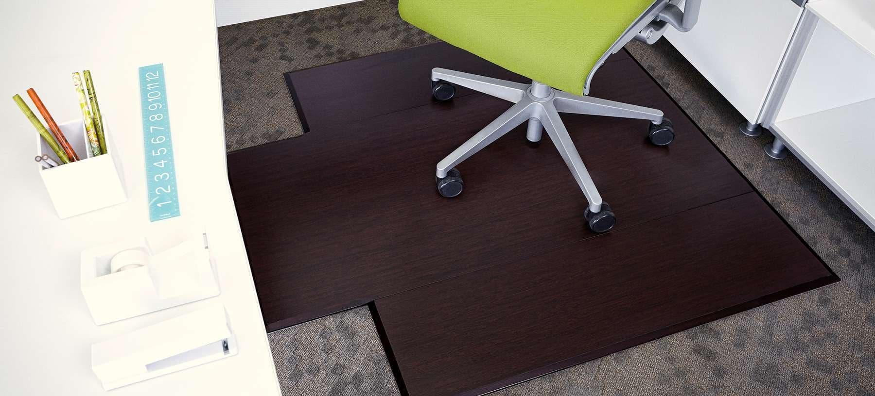 bamboo chair mat ergonomic without wheels plush trifold chairmat  anji mountain