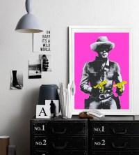 Stick Em Up - Pinks  Hoxton Art House