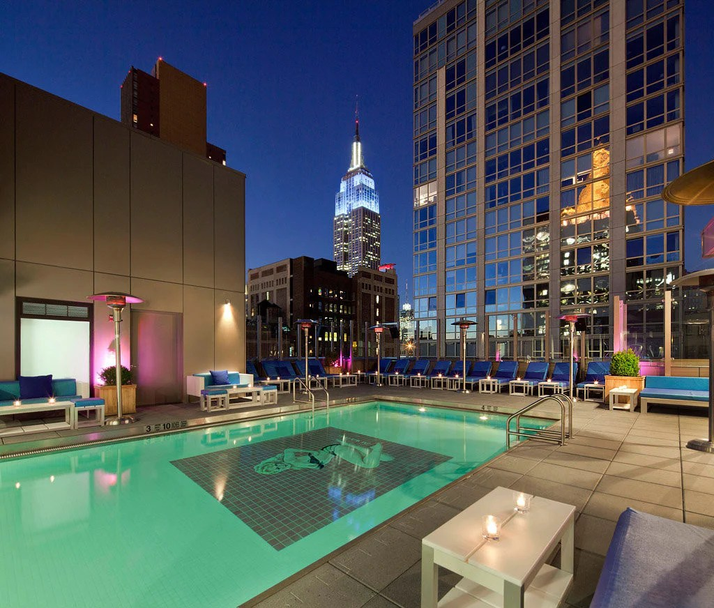 Piscina Con Vista New York Cinque Favolosi Hotel Con Piscina A New York