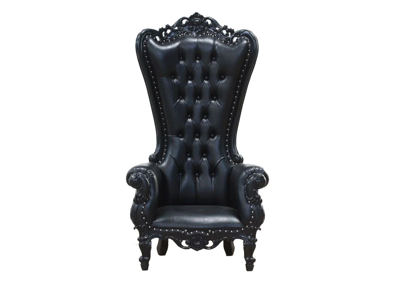 King Chairs King Chair Black Blackcraft Cult