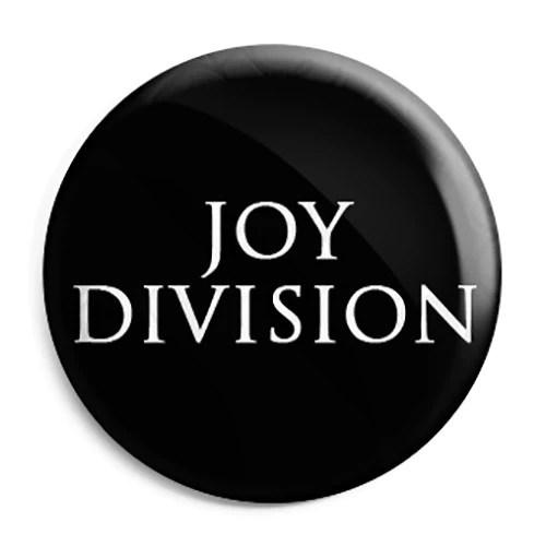 Joy Division Closer Font Logo Button Badge Fridge