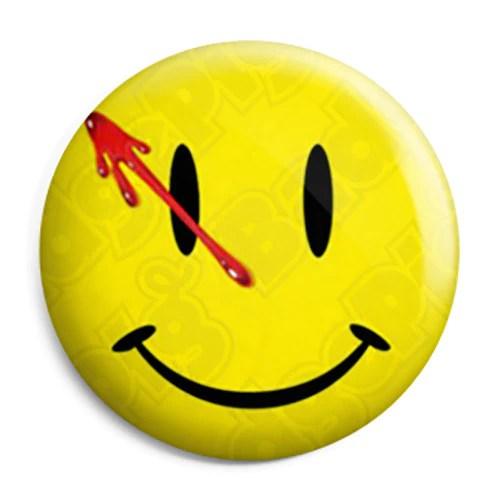 Watchmen Comic Smiley  Button Badge Fridge Magnet Key