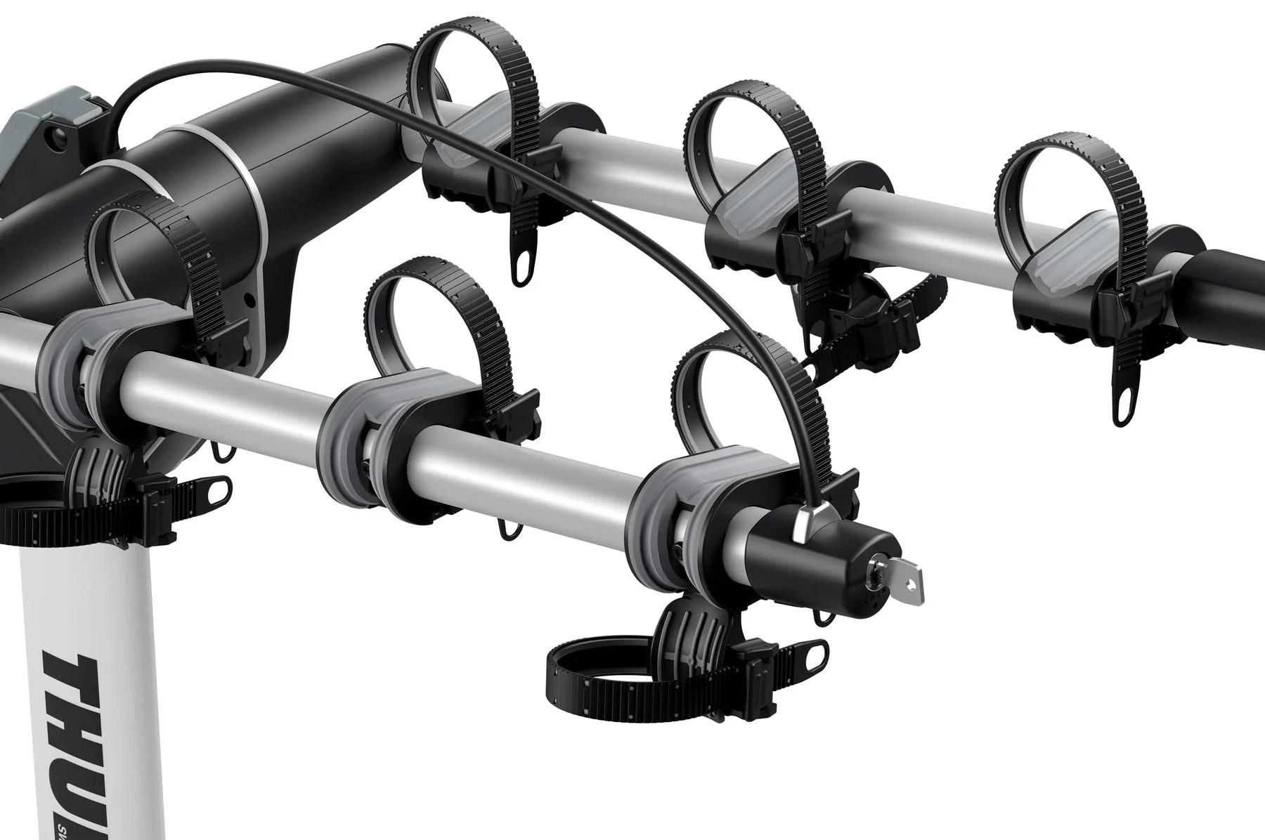hitch mounted light weight bike racks