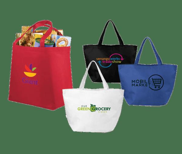 50 X Custom Tote Bags Printed PG Promotional Items