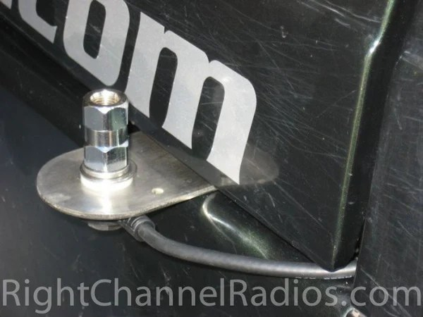 Jeep Wrangler CB Antenna Hood Mount Right Channel Radios