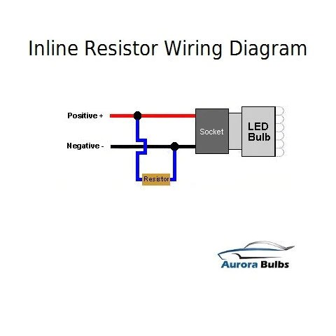 Honda Motorcycle Headlight Wiring Diagram 10w Led Canbus Warning Error Free Load Resistor Kit