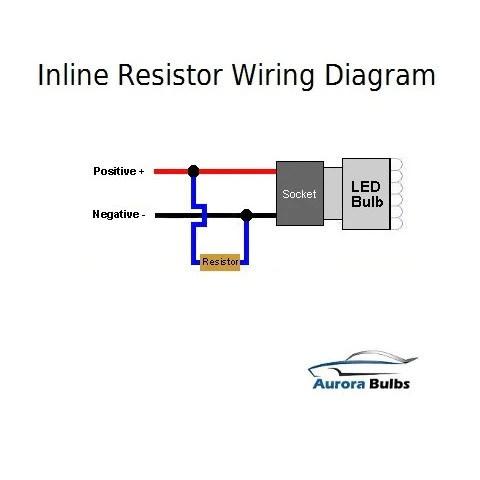 25W LED CANBUS Warning Error Free Load Resistor Kit