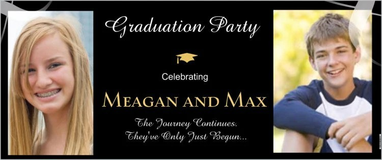 party banner for graduation