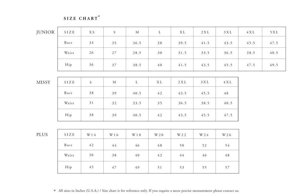 Terani sizing also size charts all sizes in canada usa   barketti rh kbarketti