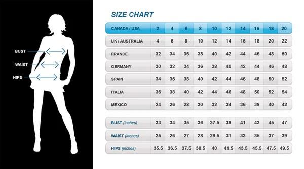 Size charts all sizes in canada usa also   barketti rh kbarketti
