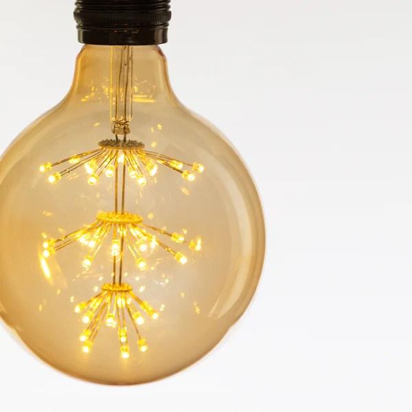 X Large star GLOBE LED Light bulb  Att Pynta