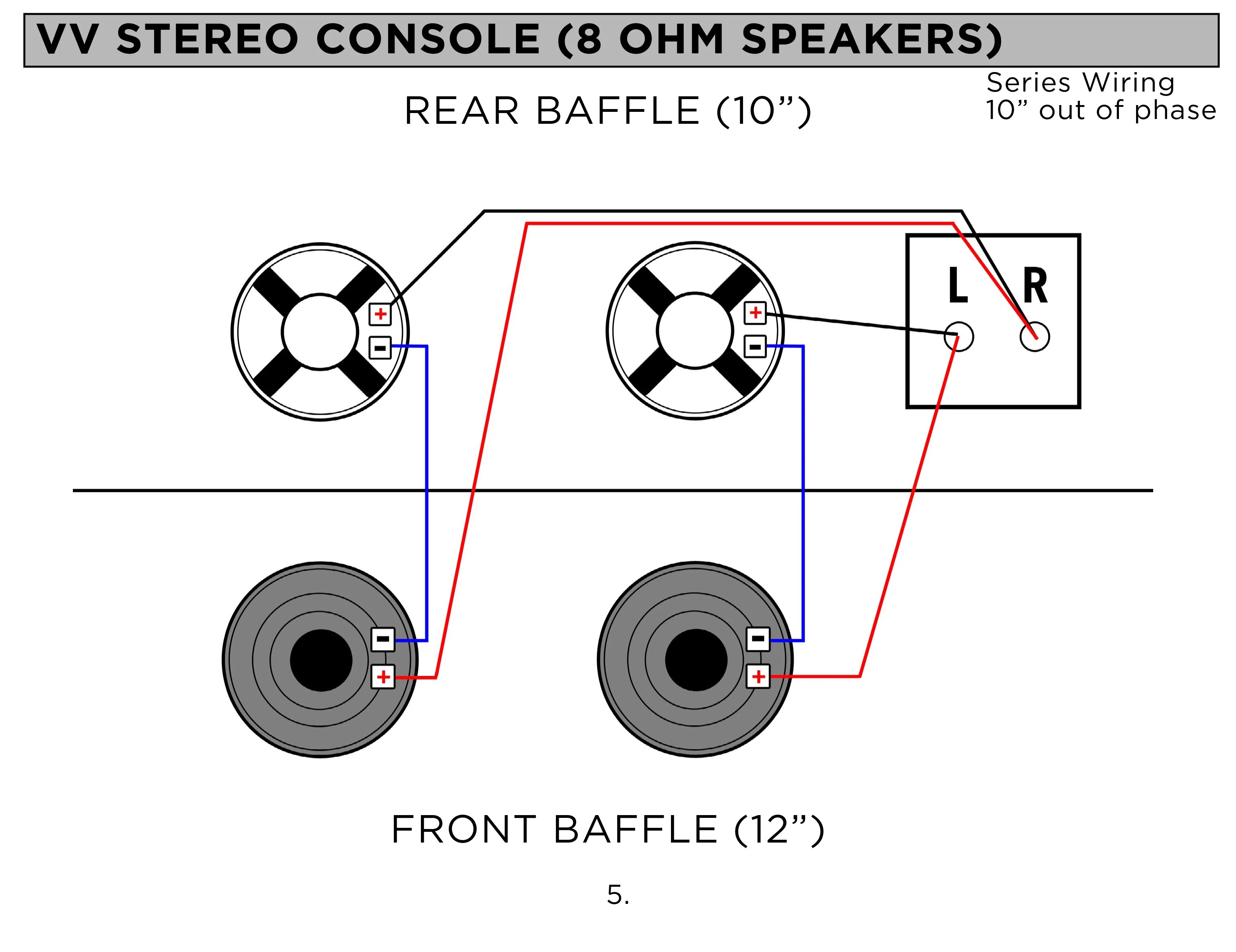 small resolution of stereo console speaker wiring diagram