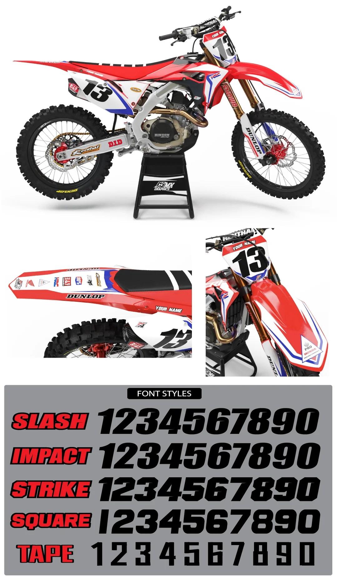 Cr85 Graphics : graphics, Series, Graphic, Honda's, Graphics
