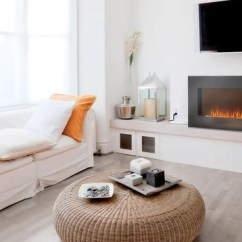 Living Room Fireplace Tv Ideas Modern Designs 2018 Best Wall Mount Electric In Blaze Mounted Under