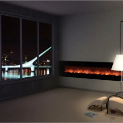 Contemporary Living Room With Electric Fireplace Cool Paint Colors For Best Wall Mount Ideas In Modern Blaze Mounted