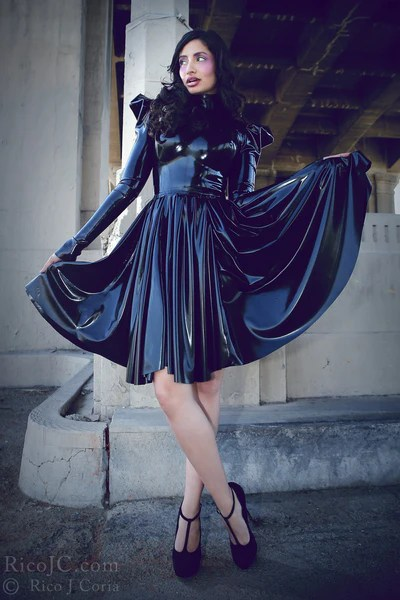 Evil Queen Dress Jane Doe Latex