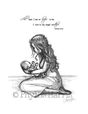 mother child mothers wall gift daughter drawing quotes sketch between phyllisharrisdesigns mom drawings son sketches painting daughters quote phyllis harris