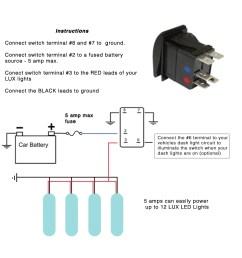 pin toggle switch wiring diagram image wiring 6 pole toggle switch wiring diagram 6 auto wiring illuminated  [ 1280 x 1280 Pixel ]