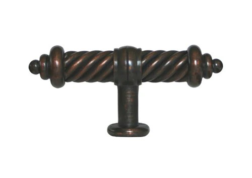 Oil Rubbed Bronze Cabinet Drawer 3 38 Flute Knob 1325 93MM cheap discount budget inexpensive